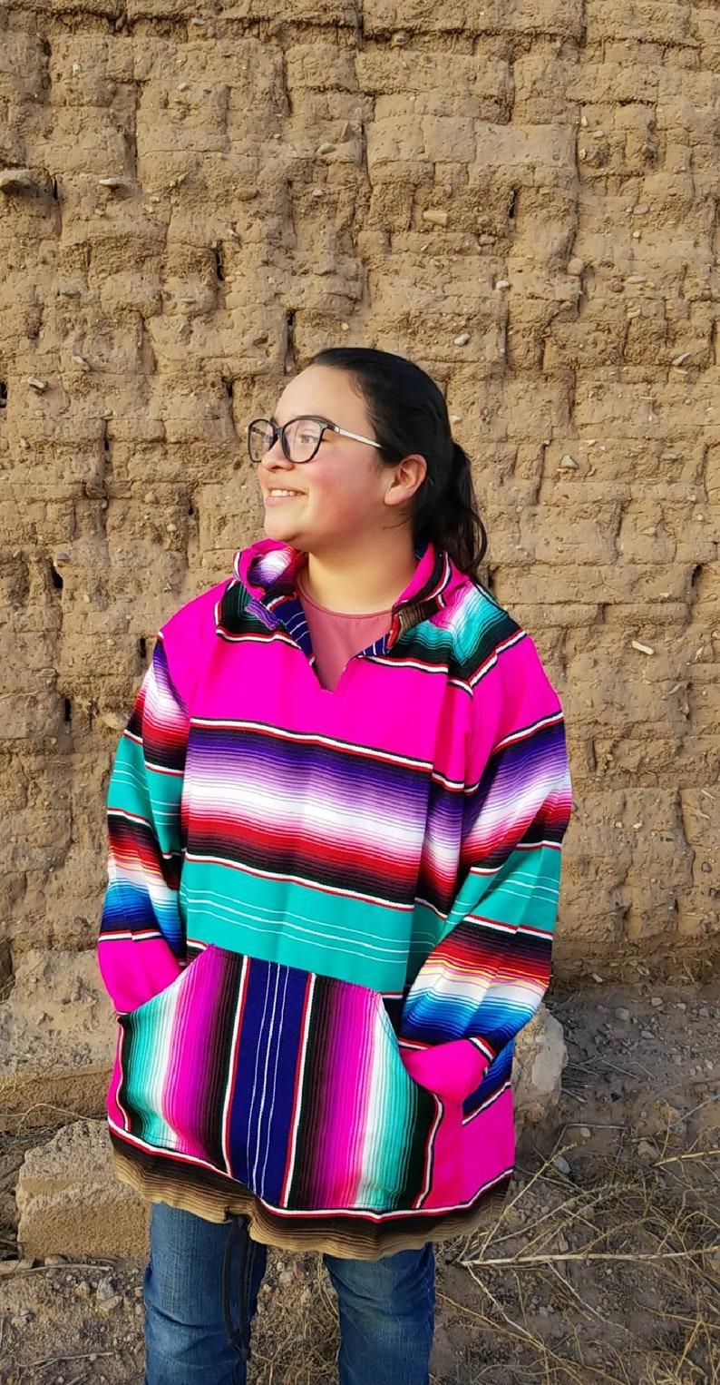 Serape hoodie|sarape|handmade