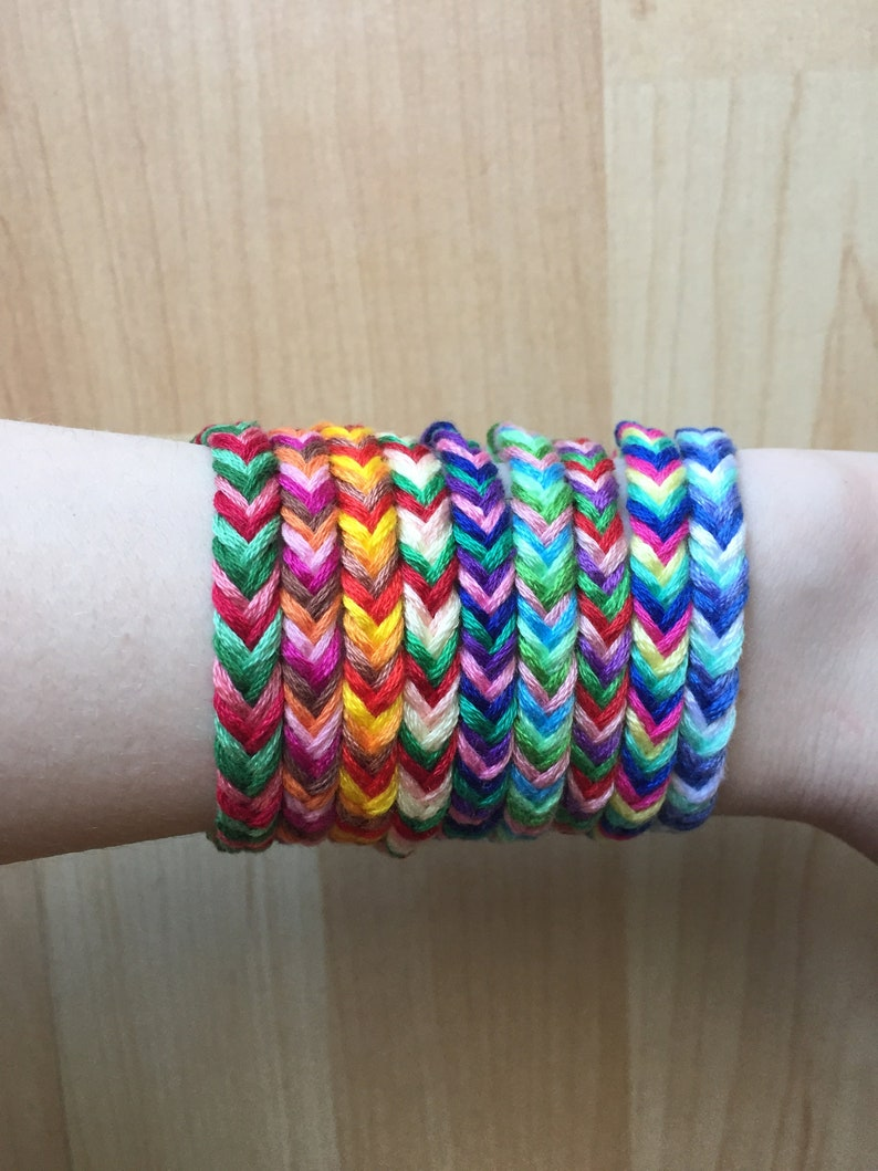 3867741c2ec8f Adjustable Fishtail Friendship Bracelet, Woven Friendship Bracelet, Small  Bracelet, Cute Bracelet, Handmade Friendship Bracelet