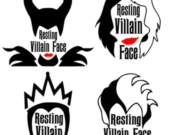 Evil queen svg | Etsy