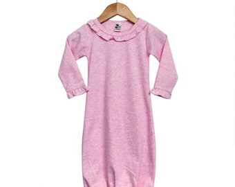 Coast Guard Baby Baby Cotton Sleeper Gown