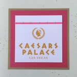7x Double sided Vegas table names