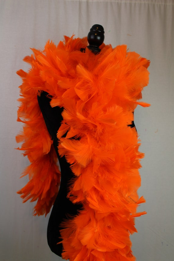"""Red 150 g Large Feather Boa 72/""""-Long 8.5/""""-9.5/"""" Wide Heavyweight Boa"""