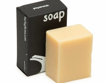 Goat Milk Soap, all natural, with essential oil.