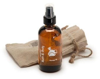 Massage Oil,  body oil,moisturizing and soothing with lavender essential oil