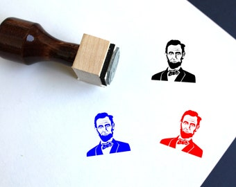 Abraham Lincoln Face Etsy