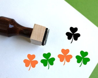 Leaping Leprechaun St Patrick/'s Day Rubber Stamp  K16414 WM