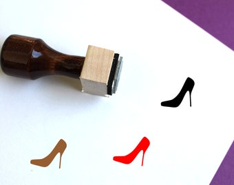 3//16 5MM High Heel Shoe Stamp for Marking Pressing Gold Silver Copper Jewelry Charms Pendants Jewelry Tool