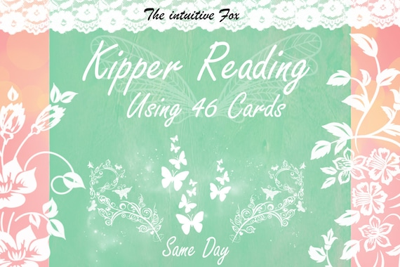 46 Cards Kipper and Tarot Reading - Future - General Life Reading Love,  Career - Tarot Reading - Intuitive Reading - Same day