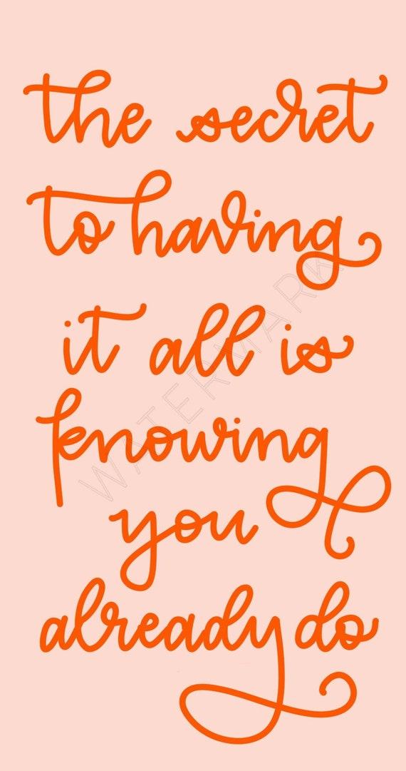 Phone Wallpaper Lock Screen Home Screen Art Motivational Sayings