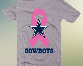 3d76897ad2f1 Dallas Cowboys Breast Cancer Ribbon SVG