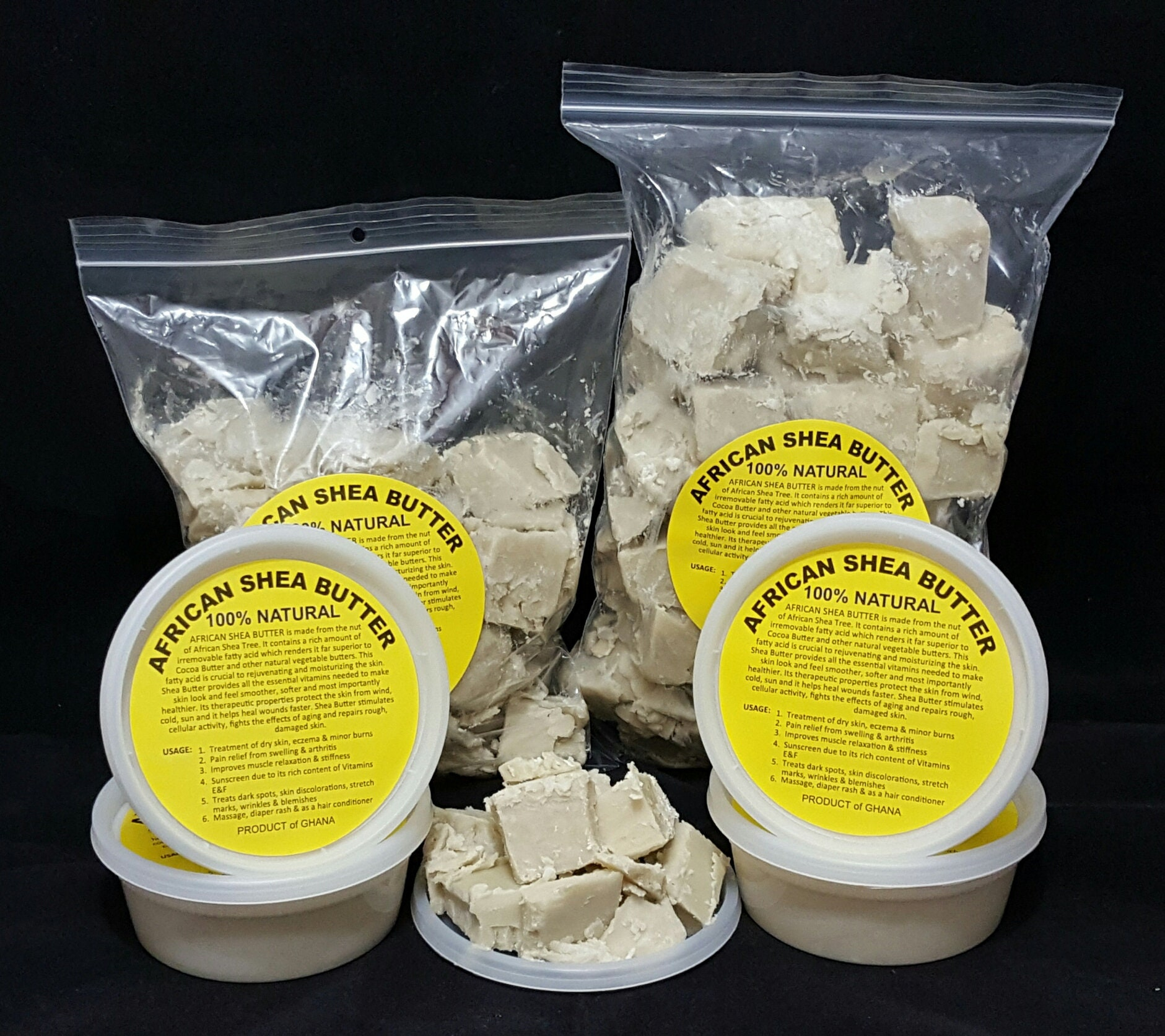 100% Organic Pure Raw Ivory African Shea Butter From 2