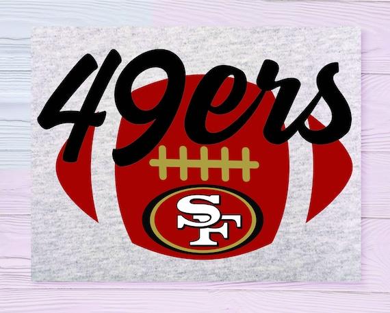 49ers Svg 49ers Football Svg 49ers Football Football Mom Etsy