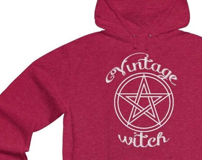 Vintage Witch  Soft Unisex Lightweight Hoodie