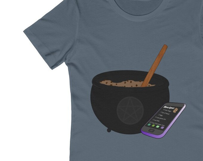 Cookies And Cauldrons Soft WomenS The Boyfriend Tee