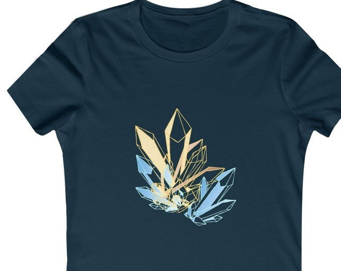 Iced Crystals  Soft WomenS Tee
