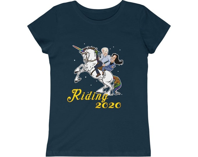 Riding 2020 - Get your Biden On -Girls Princess Tee