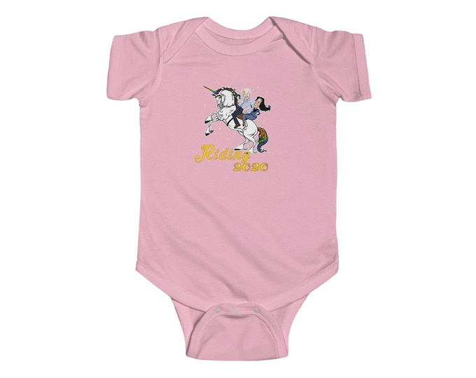 Riding 2020 - Get your Biden On Infant Fine Jersey Bodysuit
