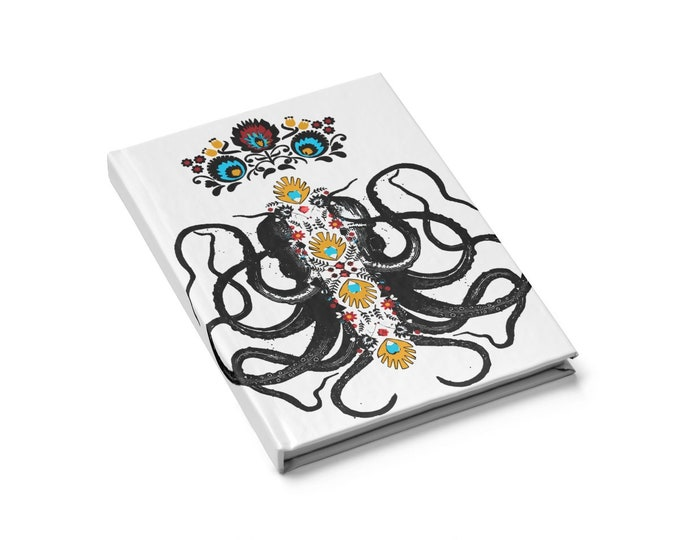 Octopus King Journal  Blank