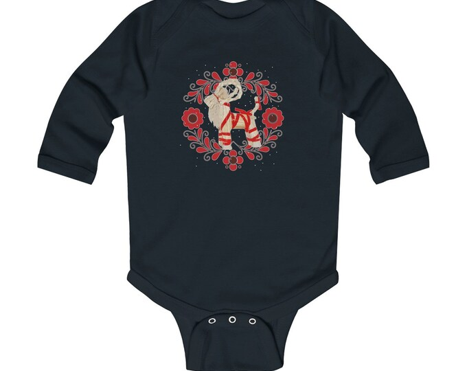 Yule Goat Infant Long Sleeve Bodysuit