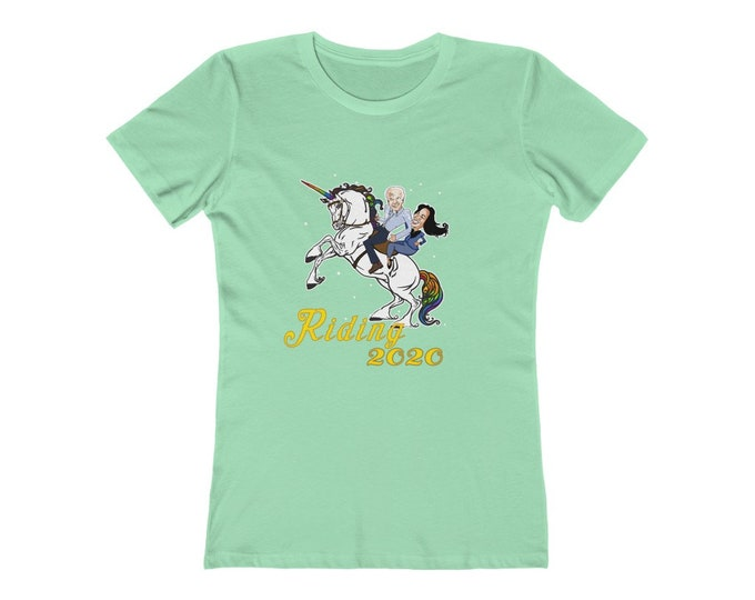 Riding 2020 -  Get your Biden on! Soft Women's Tee