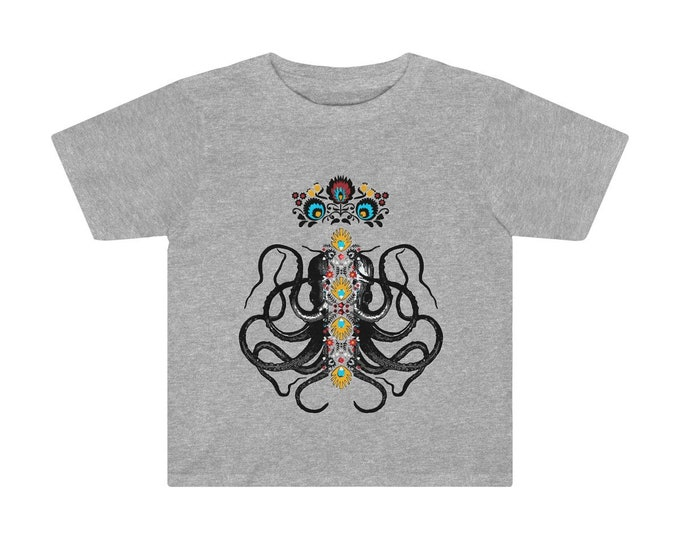 Octopus King Toddler Tee