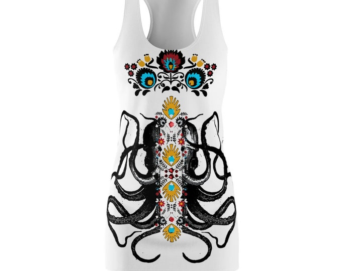 Octopus  Womens Racerback Dress