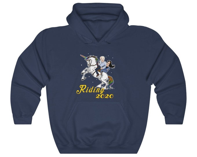 Riding 2020 - Get your Biden On - Hooded Sweatshirt