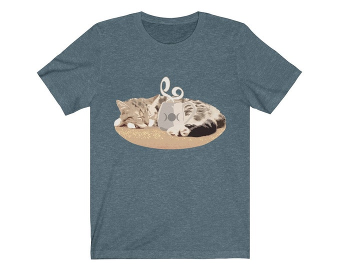 Two Of My Favorite Things  Soft Unisex Jersey Tee