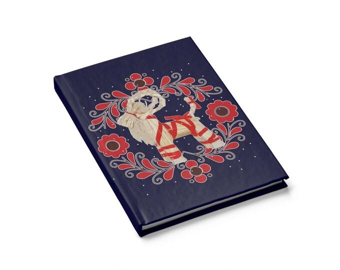 Yule Goat Journal  Blank