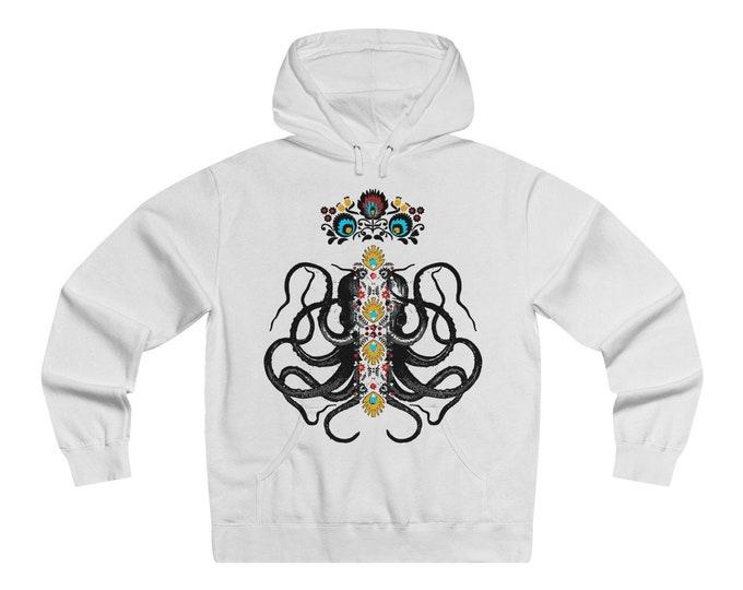 Octopus King   Lightweight Pullover Hoodie