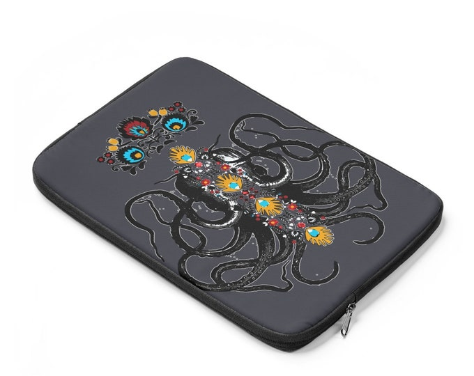 Octopus King Laptop Sleeve