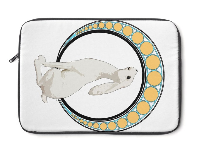 Gazing  At The Moon  Laptop Sleeve