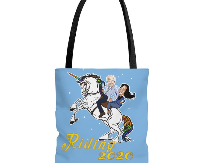 Riding 2020 - Riding with Biden -Tote Bag