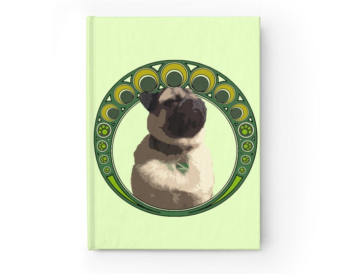 Luck of the Pug -Journal - Blank