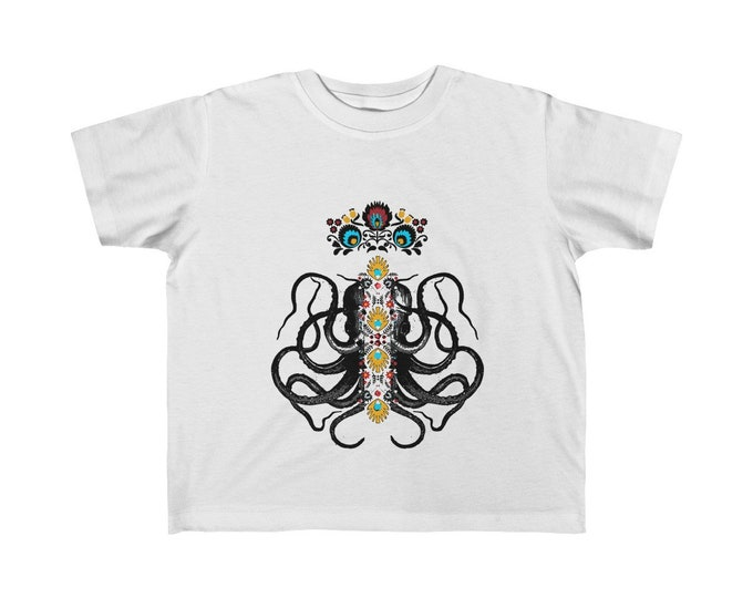 Octopus King Small KidS Fine Jersey Tee