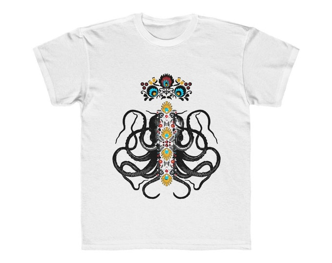 Octopus King Kids Regular Fit Tee