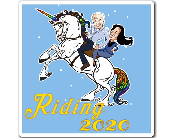 Riding 2020 - Get your Biden On Magnet