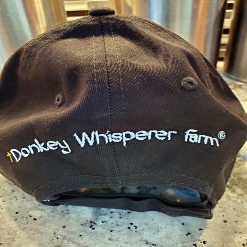 Donkey Embroidery Baseball Hat ON DONKEY TIME \u00ae