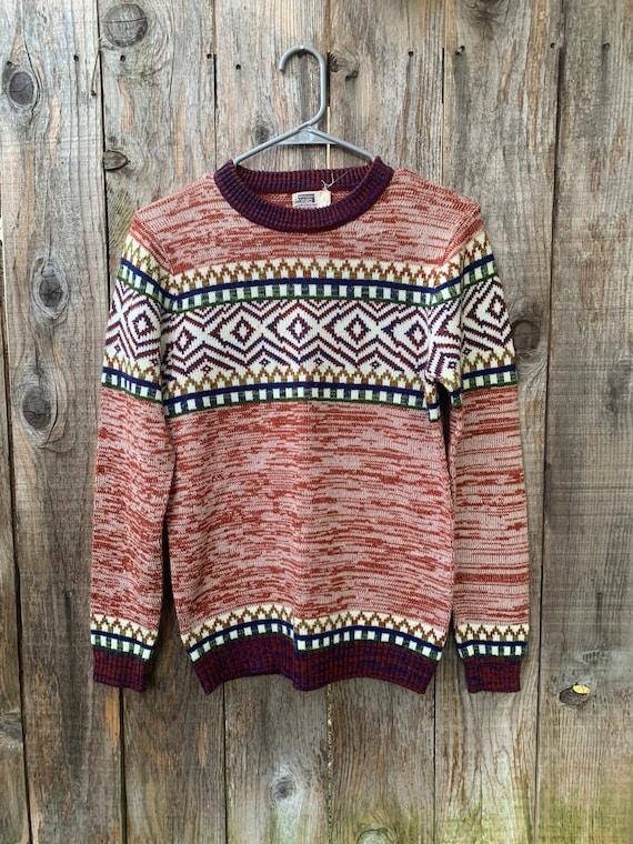 Vintage Montgomery Ward Acrylic Sweater