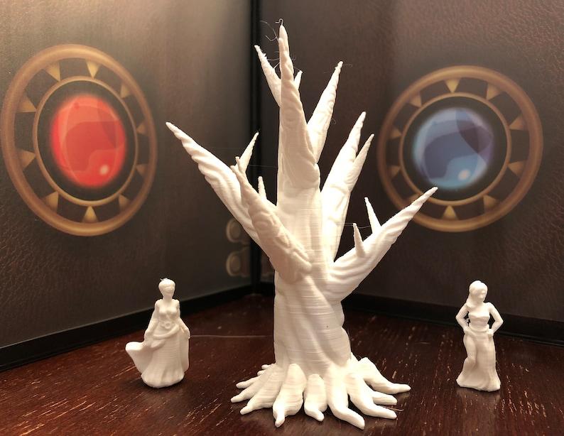Gaming Terrain Dungeon Terrain Tabletop Gaming 28mm Dagger Tree Terrain Miniatures for your D/&D gaming needs Unpainted Terrain