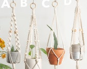 Macrame plant hangers, macrame wall planter indoor outdoor, wall hangings plant holder, rope crochet plant hanger ceiling plant holder, boho
