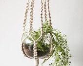 43.3 39 39 Spiral macrame plant hangers, indoor outdoor plant hangers for plant pots, hanging wall planter, farmhouse home decor, modern boho