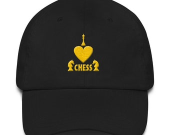 76c1f622821 Chess master dad hat