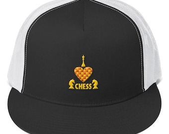 dcc075b9a57 Chess master Trucker Cap