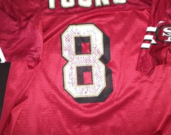 4f60bc06062 Vintage Steve Young 49s Jersey