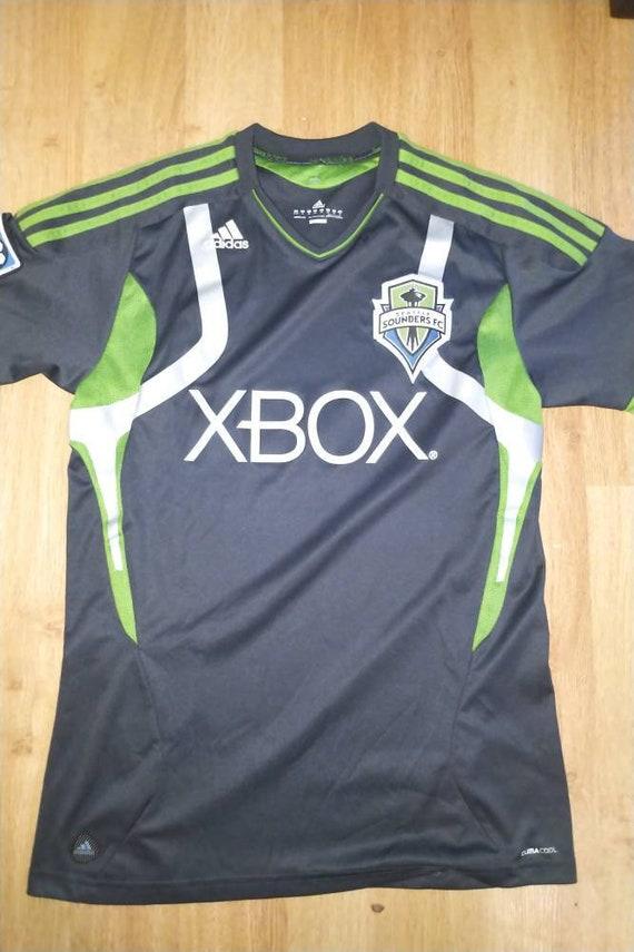 buy popular 07e27 1df11 Youth XL (women's small) Seattle Sounders MLS jersey