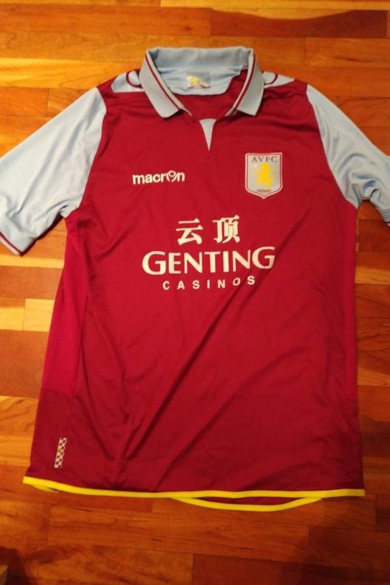 low priced 293ba 83f26 Vintage Aston Villa Soccer Jersey