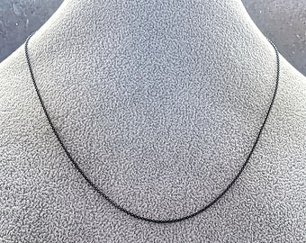 Silver 925 Chain Snake with a discontinuous cut Rhodium Mens Womens Chain Silver Necklace Woman Chain Christmas Valentine/'s Day Gift