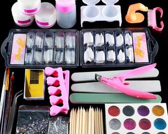 Acrylic nail kit | Etsy