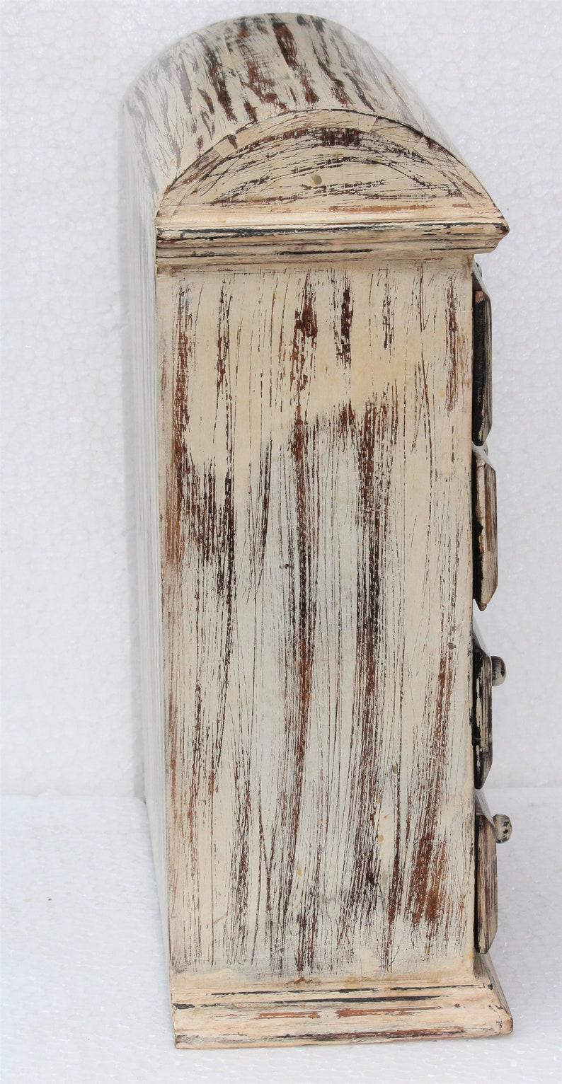 Antico bianco finitura petto di cassetti IOELK223
